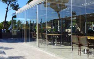 cortinas de cristal en Madrid